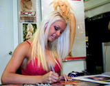 Maryse Ouellet Blazin' In Blue Foto 301 (Мариз Уэлле Blazin 'In Blue Фото 301)