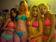 Ashley Benson, Selena Gomez, Vanessa Hudgens & Rachel Korine - Premiere magazine