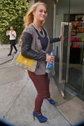 Leven Rambin - at Gavert Atelier salon in Beverly Hills 10/11/12