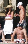 Vanessa Minnillo in a Pink Bikini in Mexico - November 7, 2010