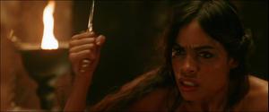 Rosario Dawson in hot sex scene