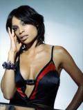 Rosario Dawson - Black & Red Photoshoot