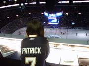 Danica Patrick @ St Louis Blues Game x 3