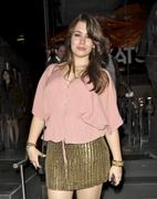 Sophie Simmons @ Katsuya Restaurant in Hollywood 04/12/11