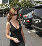 Cindy Crawford at Fred Segal in Hollywood, July 24