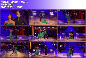 Cheryl Burke DWTS ~ 10-03-2011