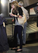 Erin Andrews in Jeans Arriving at LAX Airport 06/27/12
